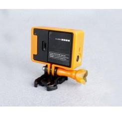 GoPro Border Standard Frame Mount for Hero 3 / 3+ / 4 Camera - Orange