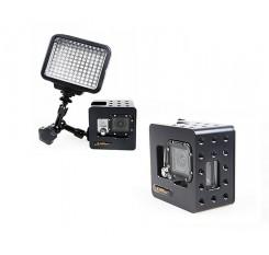 GoPro Aluminum Underwater Housing Cage for Hero 3/3+/4 Camera - Black