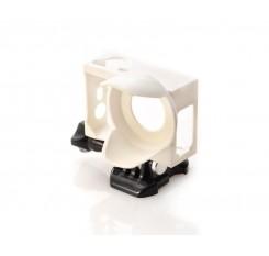 GoPro Lens Hood Housing Frame Mount for Hero 3 / 3+ / 4 Camera - White