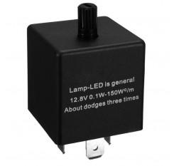 1Pcs 12V 3-PIN Electronic LED Adjustable Flasher Relay For Car Turn Signal Light
