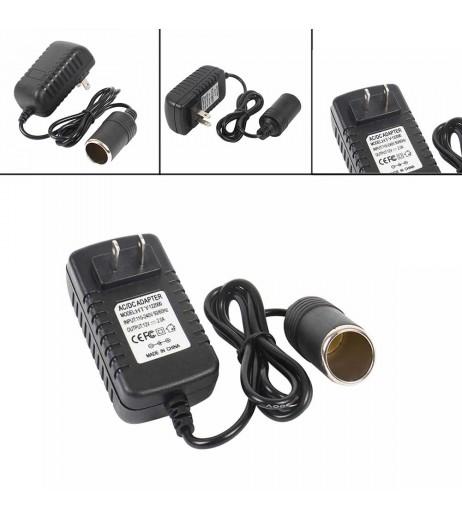 240V to 12V Socket Adapter Mains Plug Converter Car Cigarette Lighter 2A AC/DC