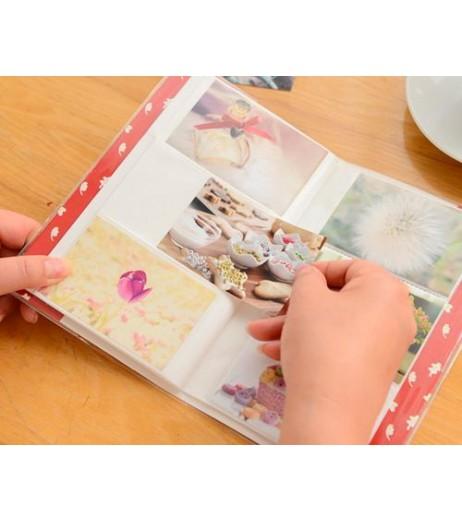 Lovable Card Holder Photo Album for Fuji Instax Mini Films - Cloud