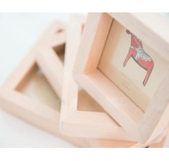 Wooden Picture Frame Photo Showcase Modern Framing - 3-Inch
