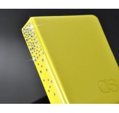 Swarovski Crystal Photo Album for Fujifilm Instax Mini Films - Yellow