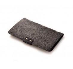 Wool Mini Book Photo Album for Fujifilm Instax Mini Films - Black