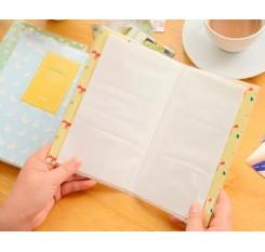 Lovable Card Holder Photo Album for Fuji Instax Mini Films - Bear