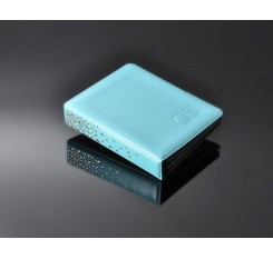 Swarovski Crystal Photo Album for Fujifilm Instax Mini Films -Sky Blue