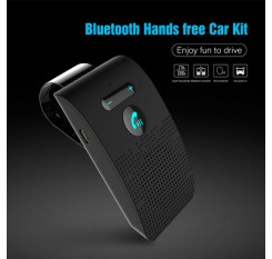 Universal Bluetooth Car Kit Wireless Handsfree Speaker Visor For Smart Phone Fast