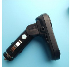 Optional Color Bluetooth Wireless FM Transmitter MP3 Player Handsfree Car Kit USB TF SD Remote I9