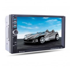 """7"""" HD Car MP5 Bluetooth Player GPS Navigation Function FM/AUX-IN/USB/SD Support Steering Wheel Control"""