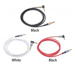 Optional Color Spiral 3.5mm Jack To Jack Audio Headphone Aux Coiled Auxiliary Cable Blue