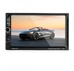 7'' HD Car Bluetooth GPS Navigation Stereo Radio 2 DIN FM/MP5/MP3/AUX + Camera