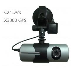 "2.7"" Dual Lens Car DVR Full HD 1080P Dash Cam Camera Video Recorder G-sensor Night Vision With Memory Card R300"