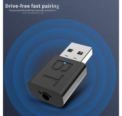Mini USB Audio Transmitter Receiver Adapter Bluetooth 5.0 For  Car TV PC Speaker
