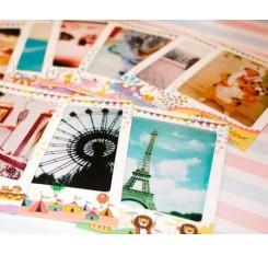 10 Pcs Photo Sticker Borders for Fujifilm Instax Mini Films - Animal