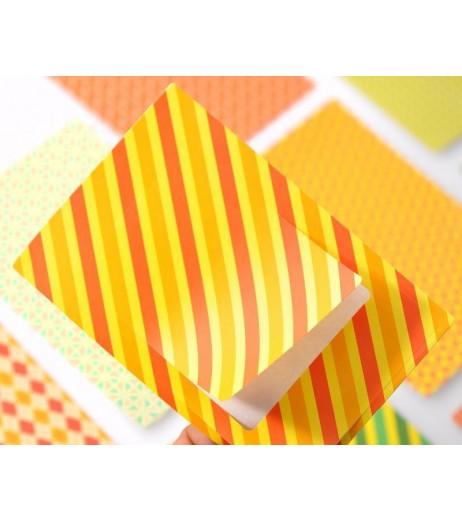 20Pcs Photo Sticker Borders for Fujifilm Instax Mini Films - Geometric