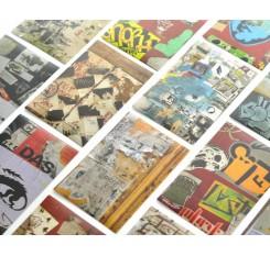 20 Sheets Fujifilm Instax Mini Films Decor Sticker Borders - Skeleton