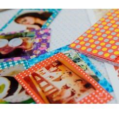 20Pcs Photo Sticker Borders for Fujifilm Instax Mini Films - Colorful