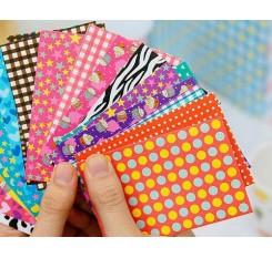 80Pcs Photo Sticker Borders for Fujifilm Instax Mini Films - Colorful