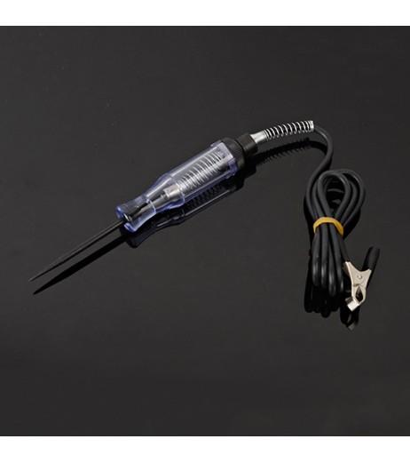 1pc Durable Car Automotive Voltage Circuit Tester For 6-24V DC Probe Pen Continuity Test Light