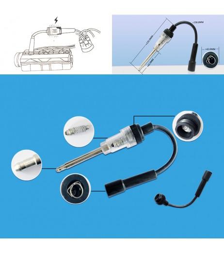 12V Car Repair Spark Plug Tester Ignition In-Line Spark Tester Diagnostic Tool