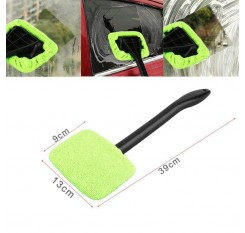 Car Window Brush Windshield Clean Fast Easy Shine Handy Auto Wiper Cleaner Home