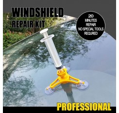 Car Auto DIY Windshield Windscreen Instrument Repair Kit Glass Repair Tool Glass