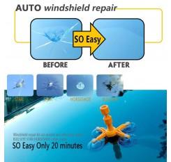 DIY Car Wind Windscreen Windshield Repair Tool Set Glass Kit For Chip Crack