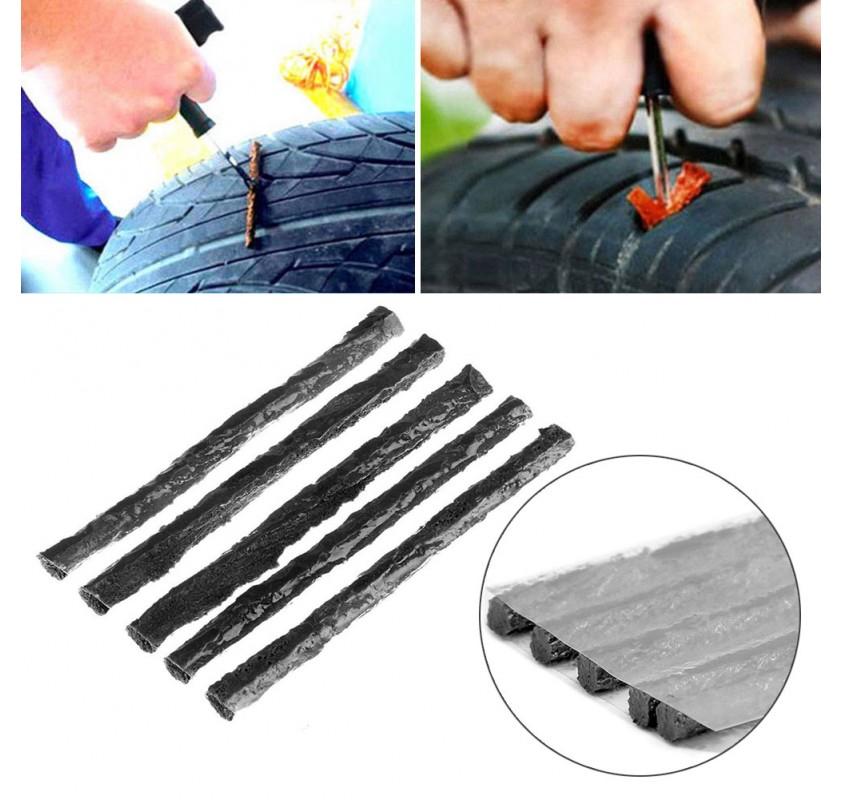 10pc//piece Tubeless Seal Strip Plug Bike Car Tire Repair For Tire M3X3 B5J2 N7B0