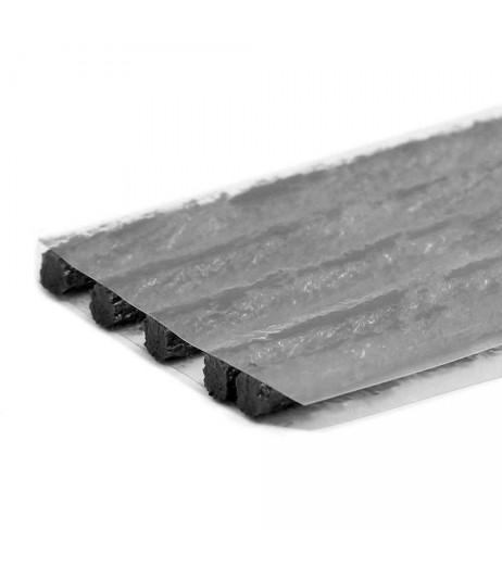 Black 50pcs Car Truck Bike Tire Tubeless Puncture Seal Repair Strip Plug Tyre Kit