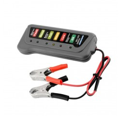 12V Car Digital Battery 6 LED Lights Display Alternator Tester Diagnostic Tool