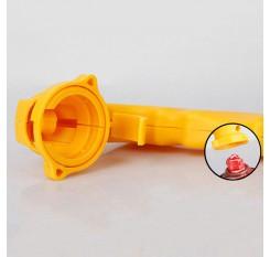 Optional 2 Color Plastic Portable Car Styling Dip Handle Color Spray Painting Gun Rim Membrane
